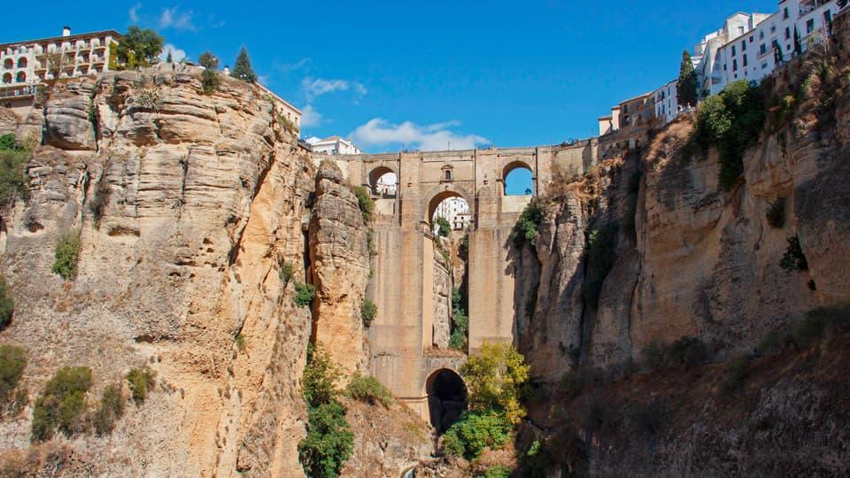 Puente y Parador de Ronda-Spain