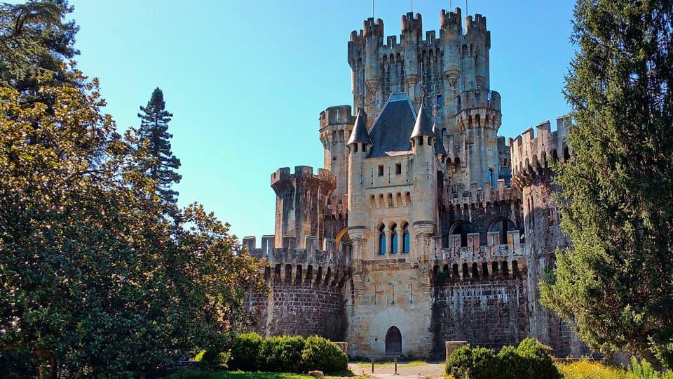 The Butrón Castle. Buy a castle in Spain.