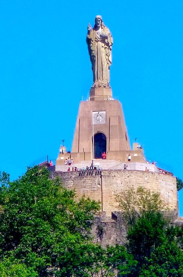 San Sebastián - Monumento al Sagrado Corazón de Jesús, Monte Urgull
