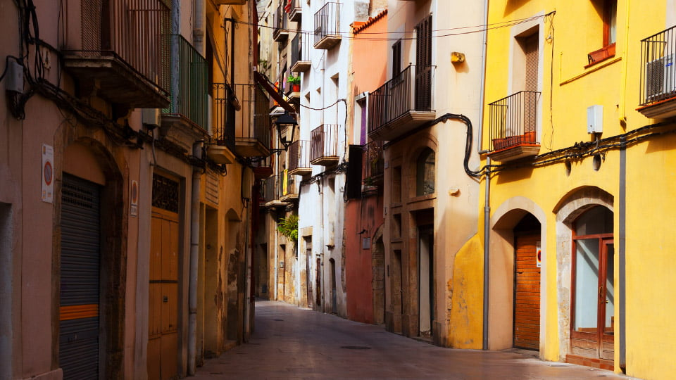 Tarragona Old Town-Spain