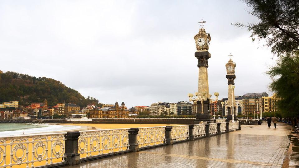 La Concha, San Sebastian-Spain