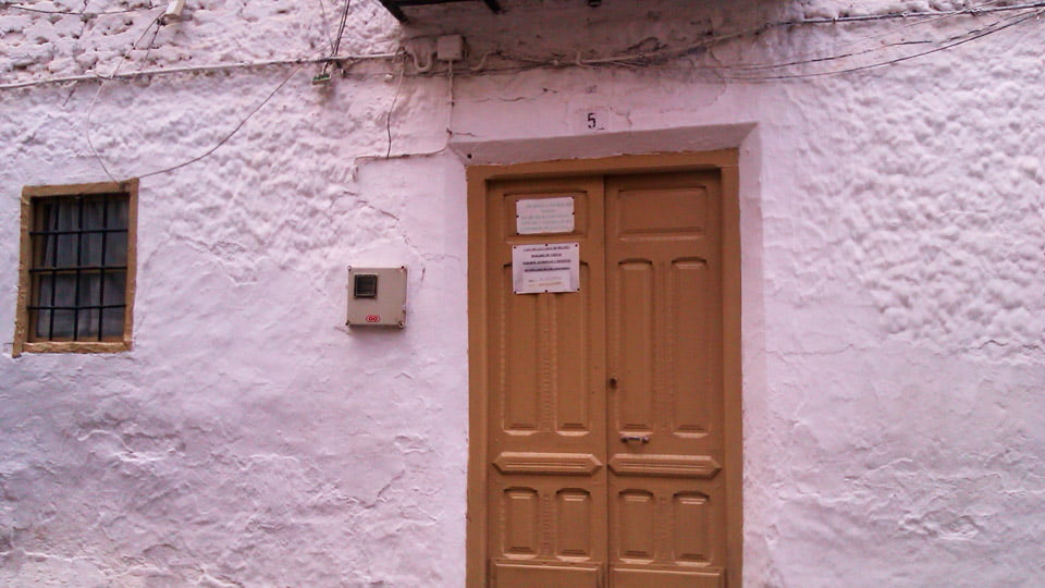 The ghost's house of Belmez-Spain