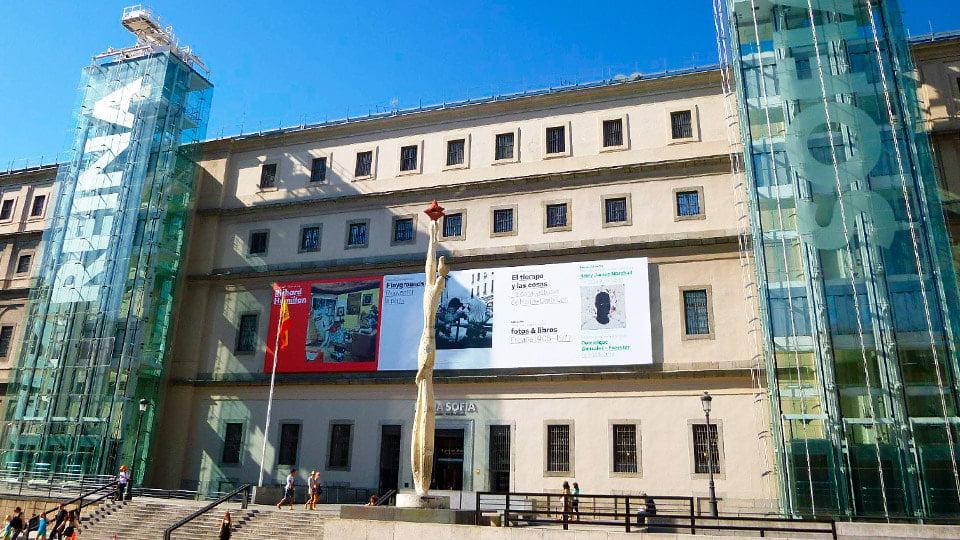Reina Sofía Art Museum Madrid-Spain