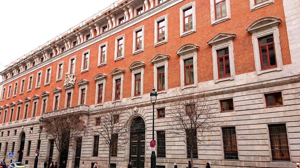 Royal Customs House-Madrid Spain