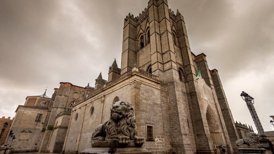 Ávila Cathedral-Spain