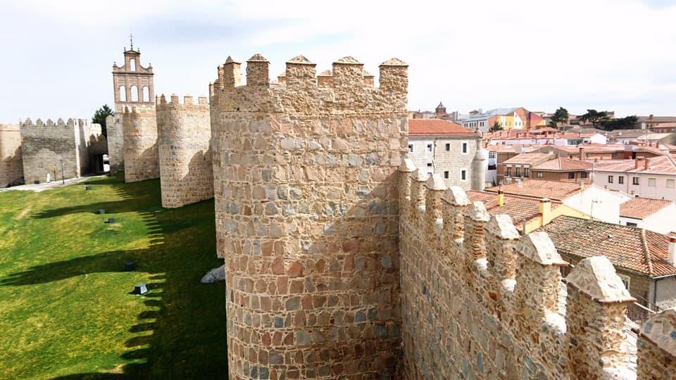wall of Ávila-Spain