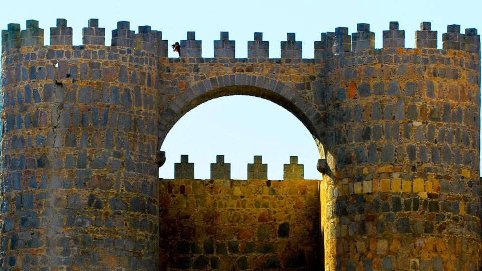 Ávila gate-Spain