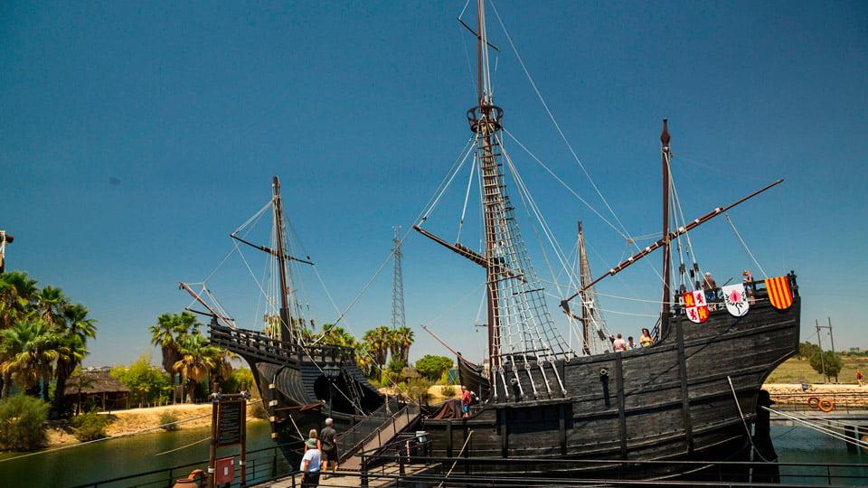 Columbus's Caravels-Huelva Spain