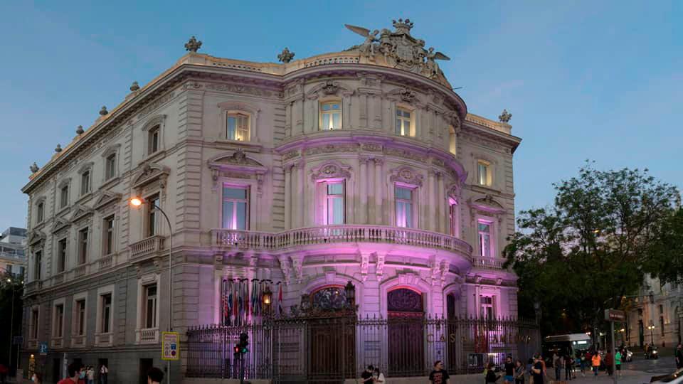 Linares Palace-Madrid Spain
