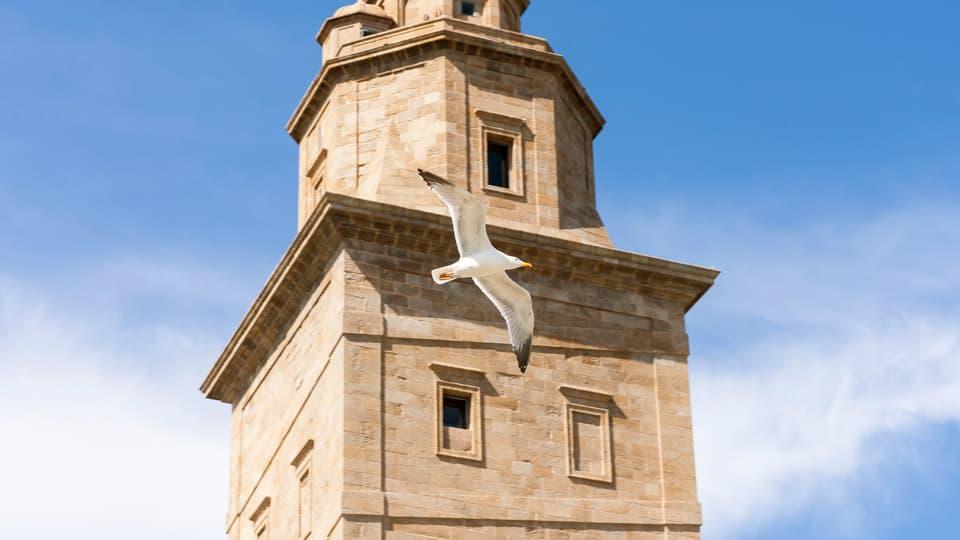 The hercules tower-Coruña Spain