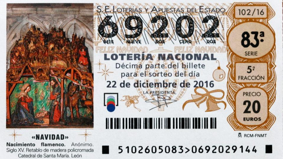 National Lottery Spain Christmas