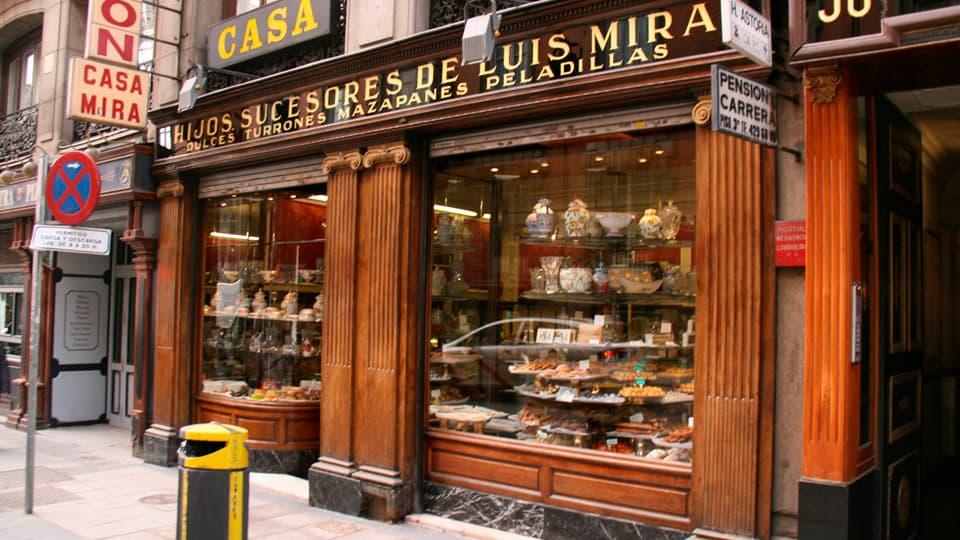 Casa Mira Nougat-Madrid Spain