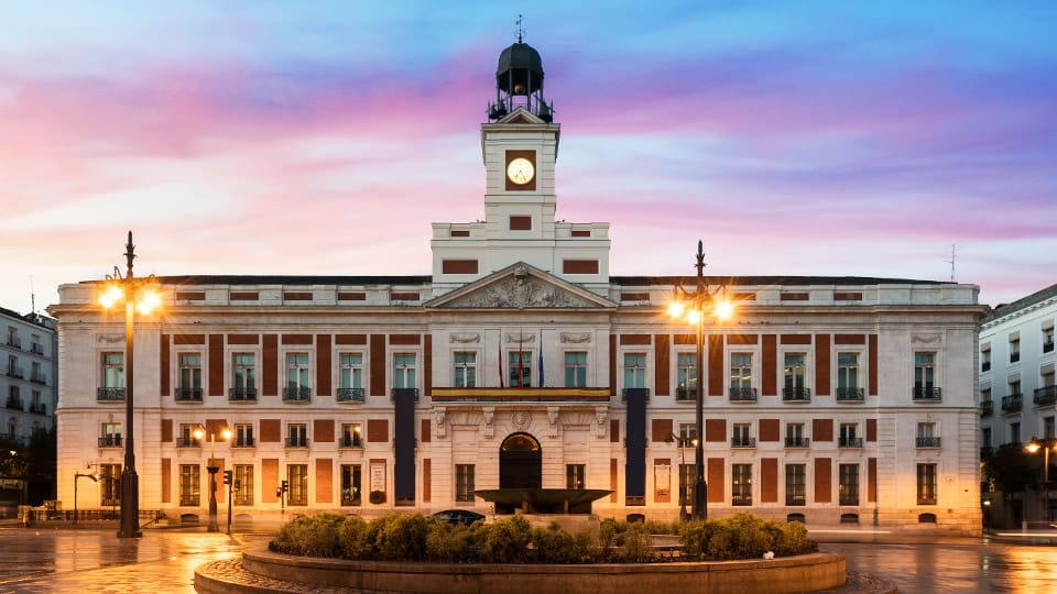 Plaza del Sol-Madrid Spain
