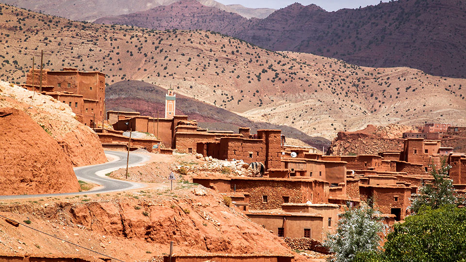 Day trip to Atlas Mountains and hiking the Bereber villages