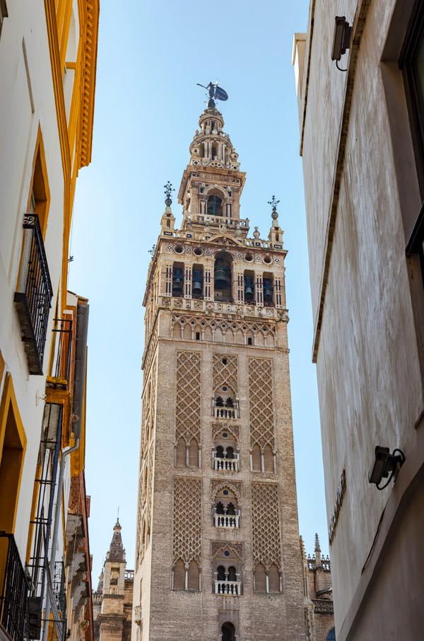 La Giralda tower-Seville Spain