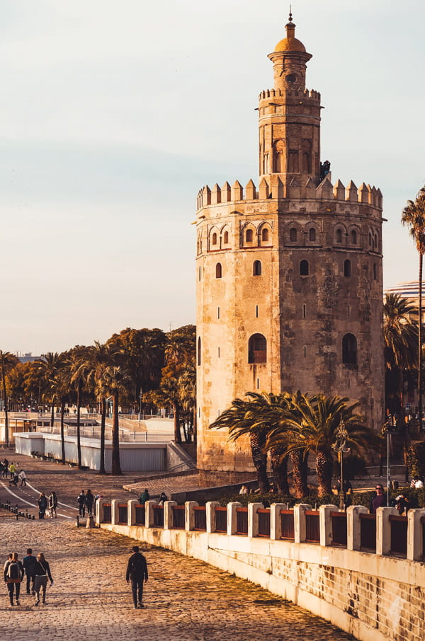 Torre del Oro-Seville Spain
