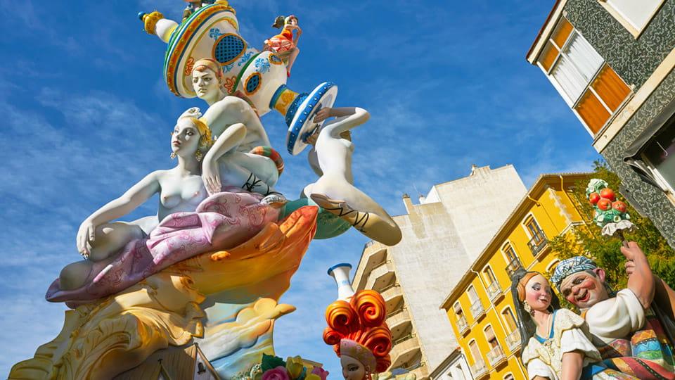 The Fallas-Valencia Spain