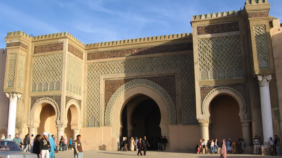 Bab Mansour gateway - Meknes