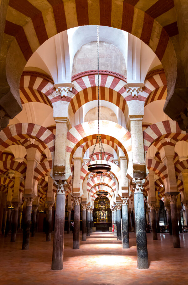 The Mosque of Cordoba. Spain