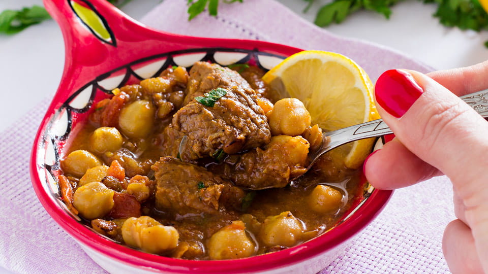 Moroccan soup harira