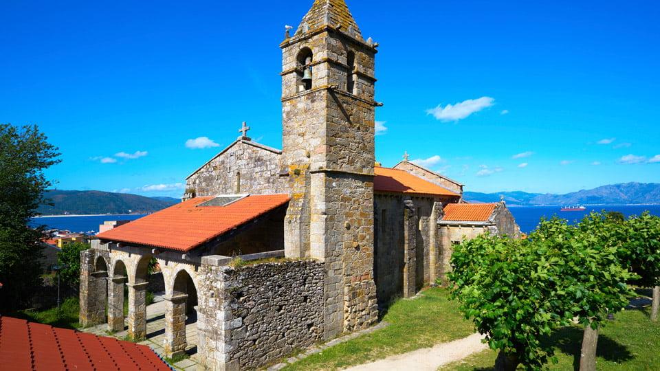 Finisterre church
