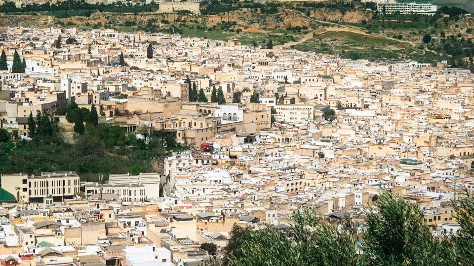 Old Fez city