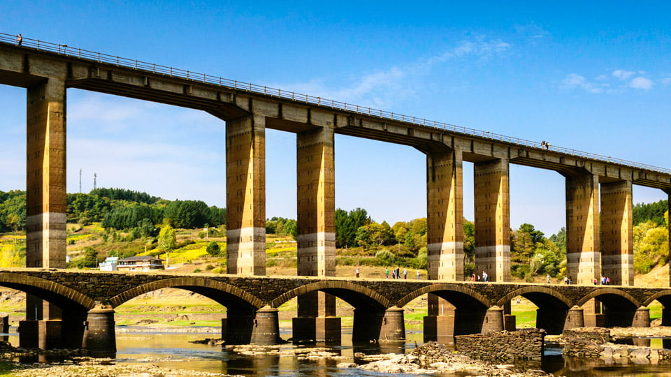Portomarin bridge - Spain