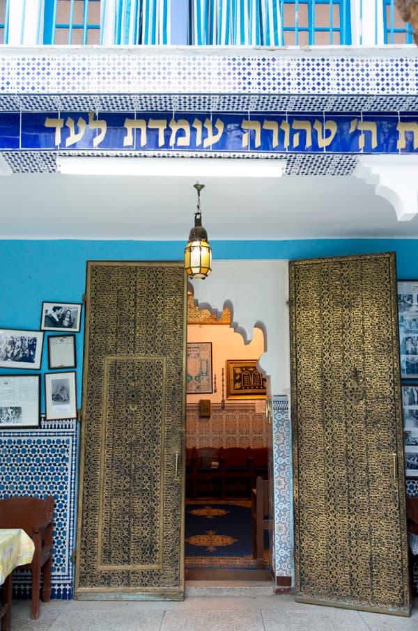 Lezama synagogue - Marrakech