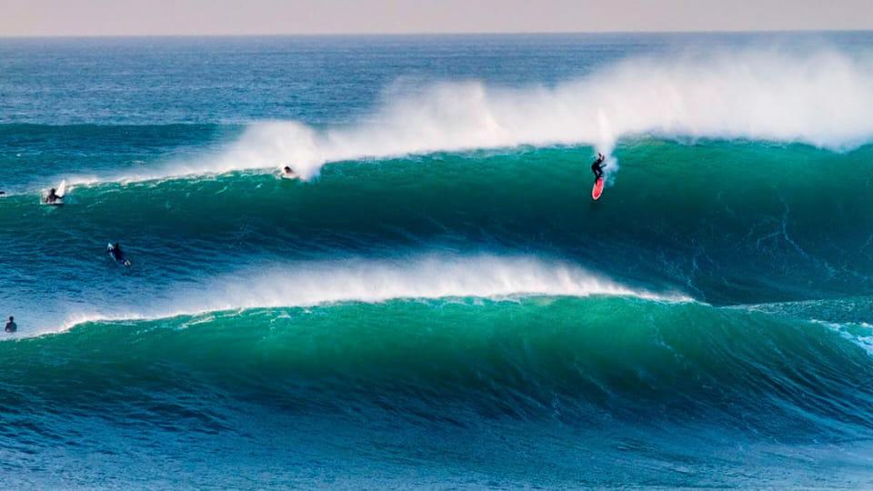 Surf in San Sebastian Basque Country
