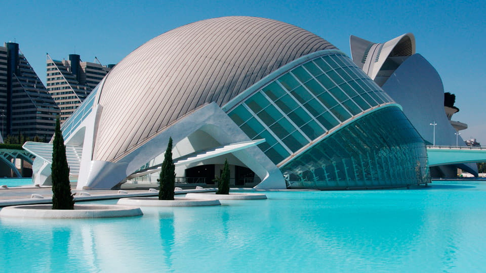 The City of Arts In Valencia-Spain