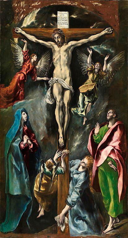 The Crucifixion of El Greco, 1597