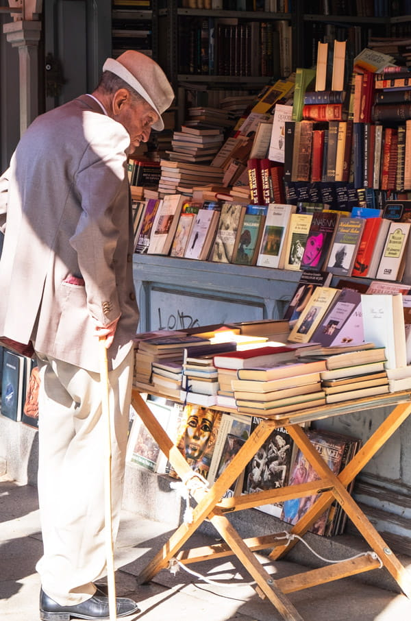 Madrid book fair-Retiro Park Madrid-Spain
