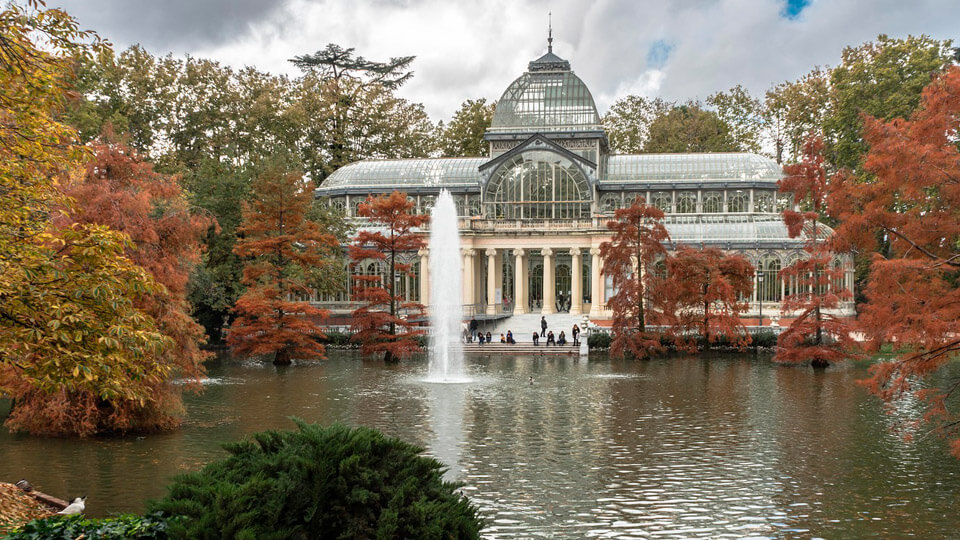 The Retiro Park in Madrid