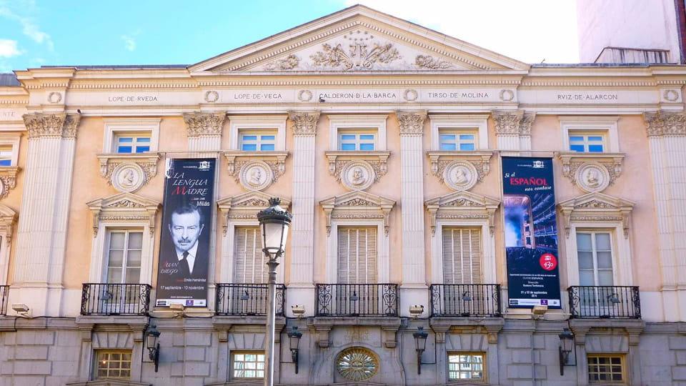 Spanish theatre in Madrid-Spain