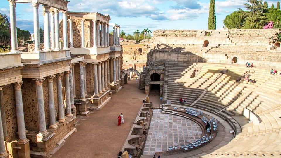 Roman theatre of Merida-Spain