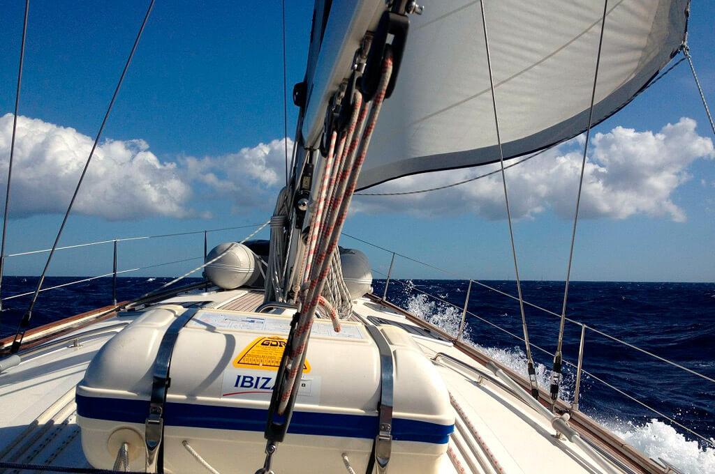 Sail the Mediterranean Sea, in Spain